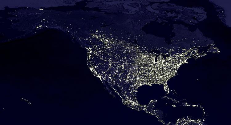 NASA Images Reveal Nighttime Global Energy Use | Austin Energy